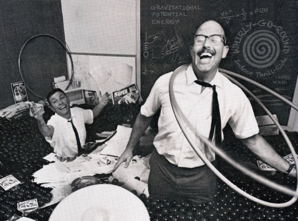 Spud Melin and Rich Knerr from LIFE magazine 1965