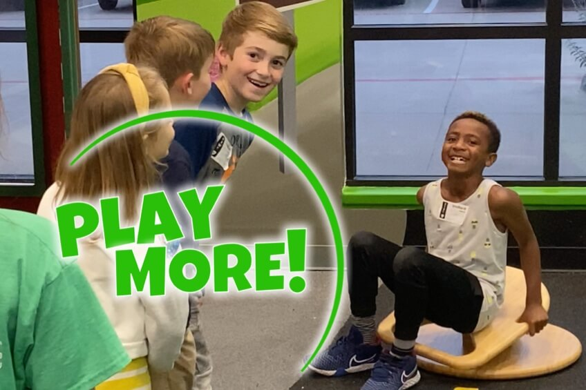 Play More: Boy on a Whirly-Go-Round