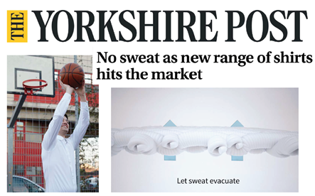 Induo on Yorkshire Post publication