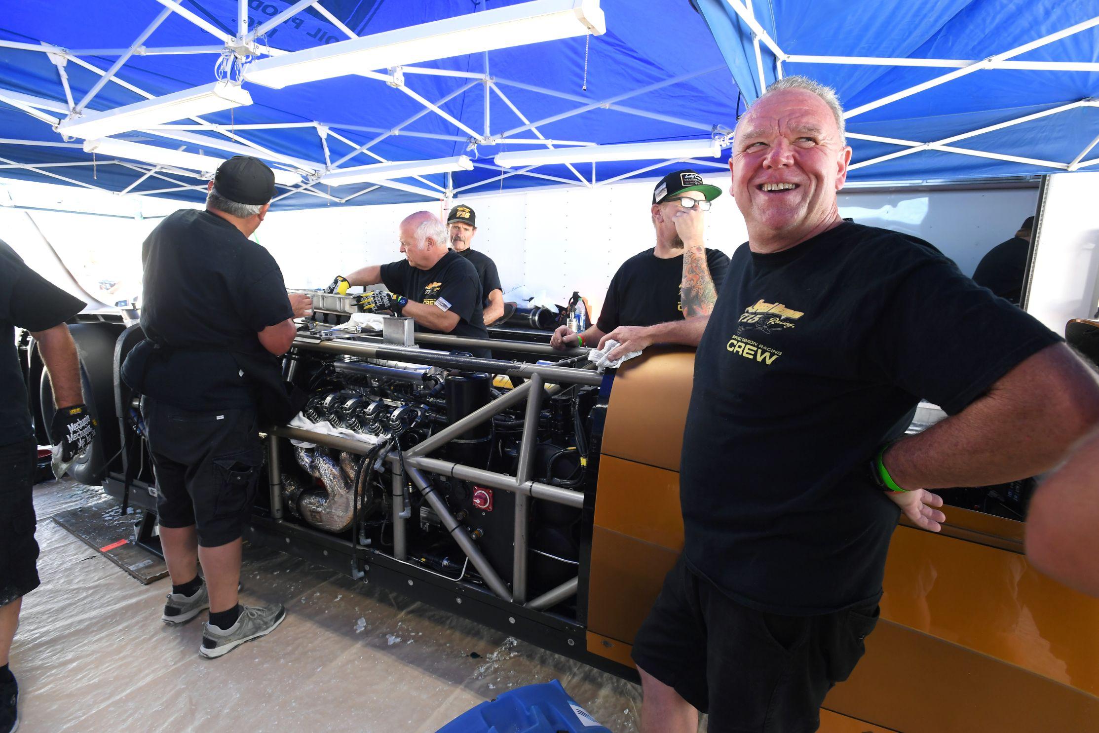 Speed Demon Bonneville Nationals Inc. 2020 Record Run w