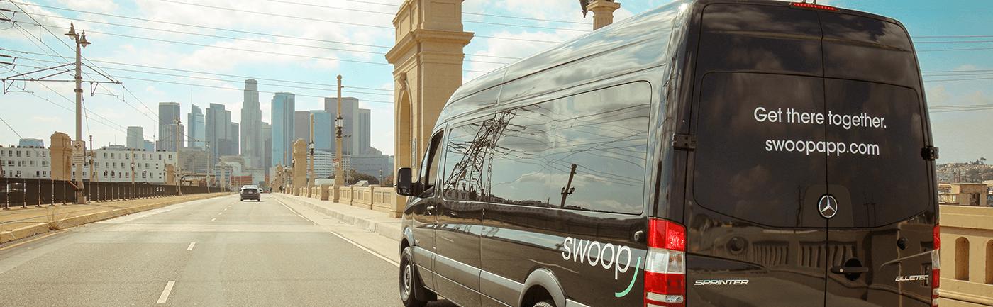 Swoop Van in Downtown LA
