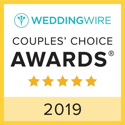 Wedding Wire Couples's Choice Award 2019