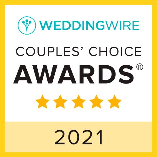 Wedding Wire Couples's Choice Award 2021