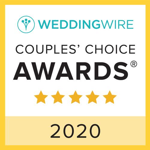 Wedding Wire Couples's Choice Award 2020