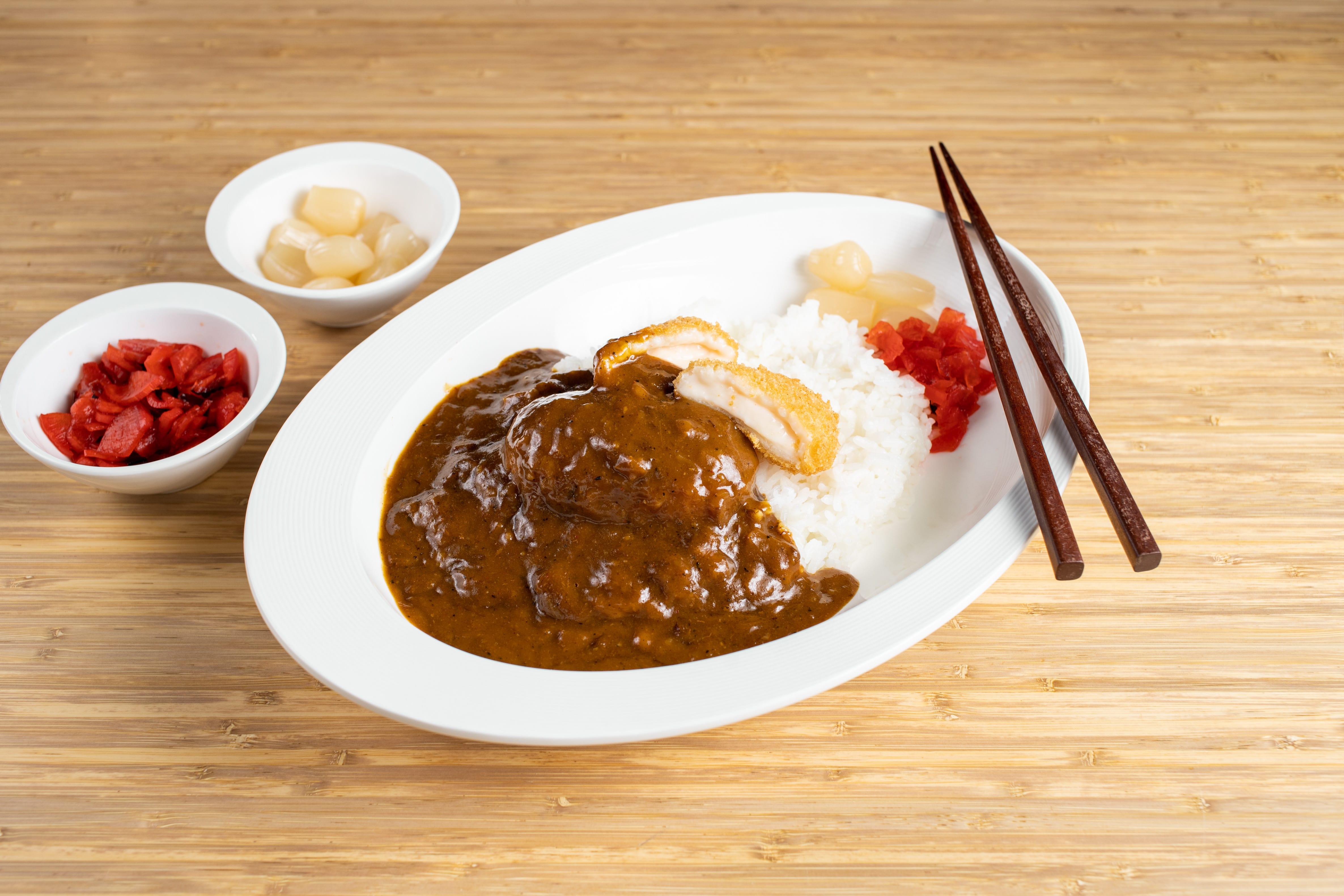 Kani (Crab) Cream Croquette Curry
