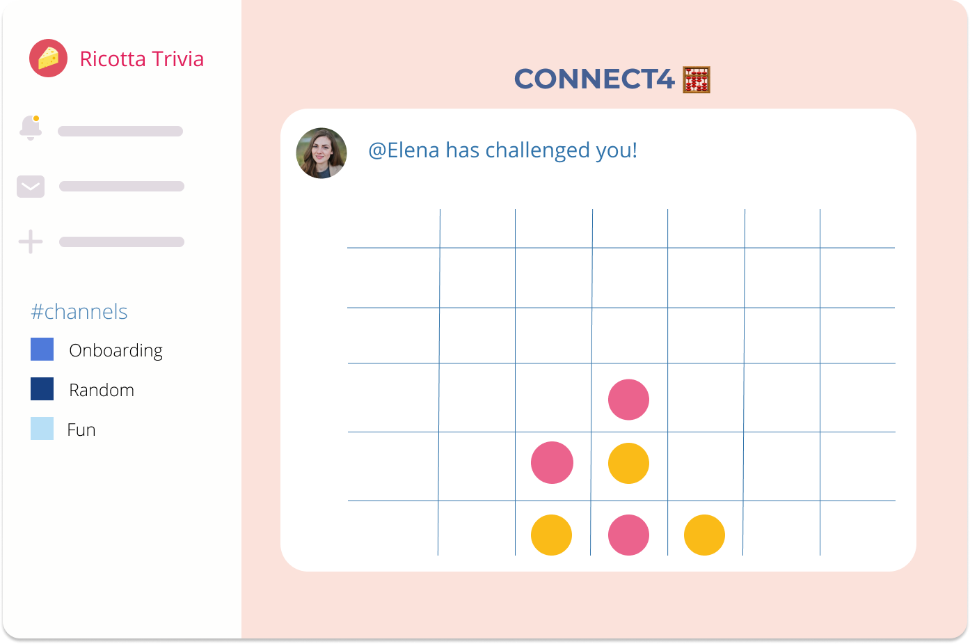Connect4 Slack Game