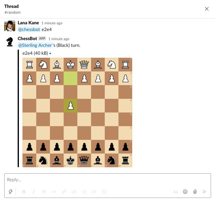 Chess Bot for Slack