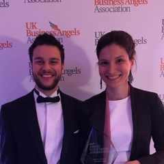 Feebris Wins UKBAA's Best Investment in Disruptive Technology Award