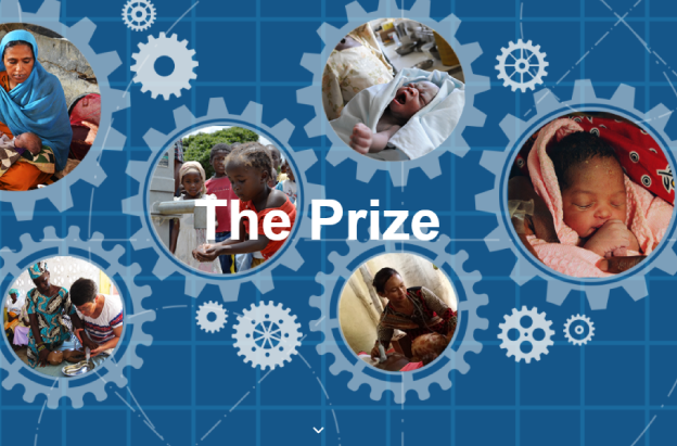 Feebris Founder Elina wins 2018 Children's Prize