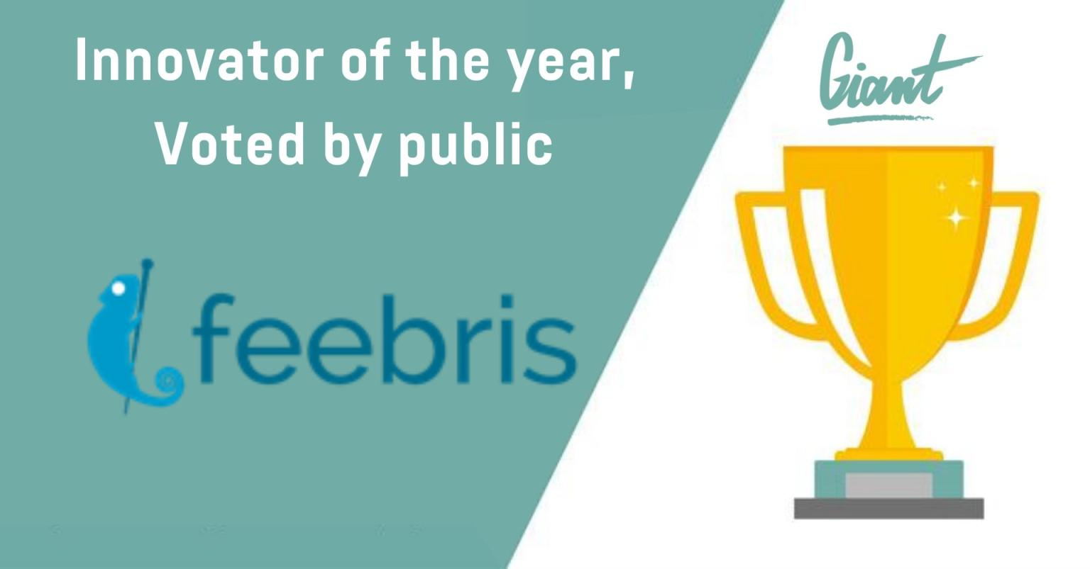 Feebris wins Giant Health's 'Innovator of the Year' Award