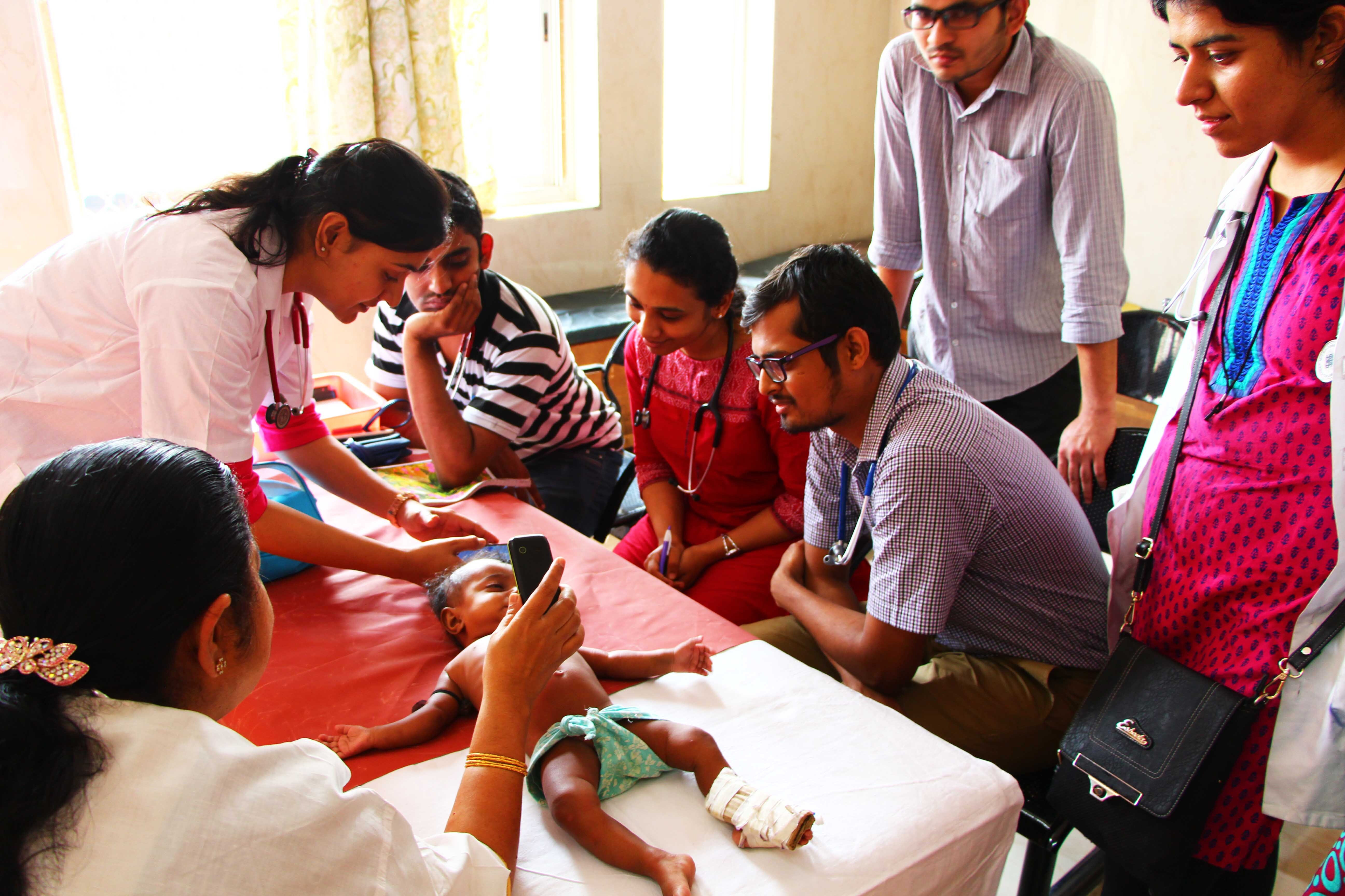 Feebris in use in India helping diagnose children