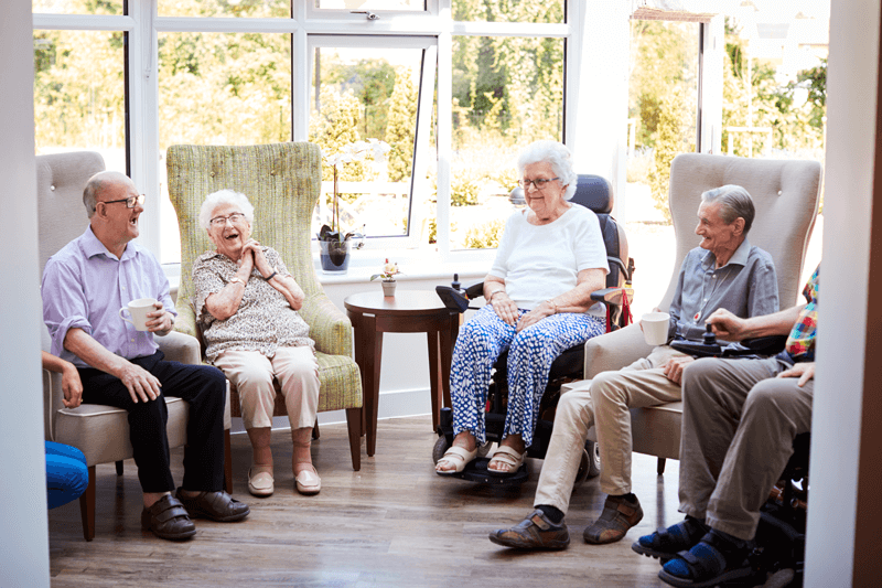 Elderly Care Home Community