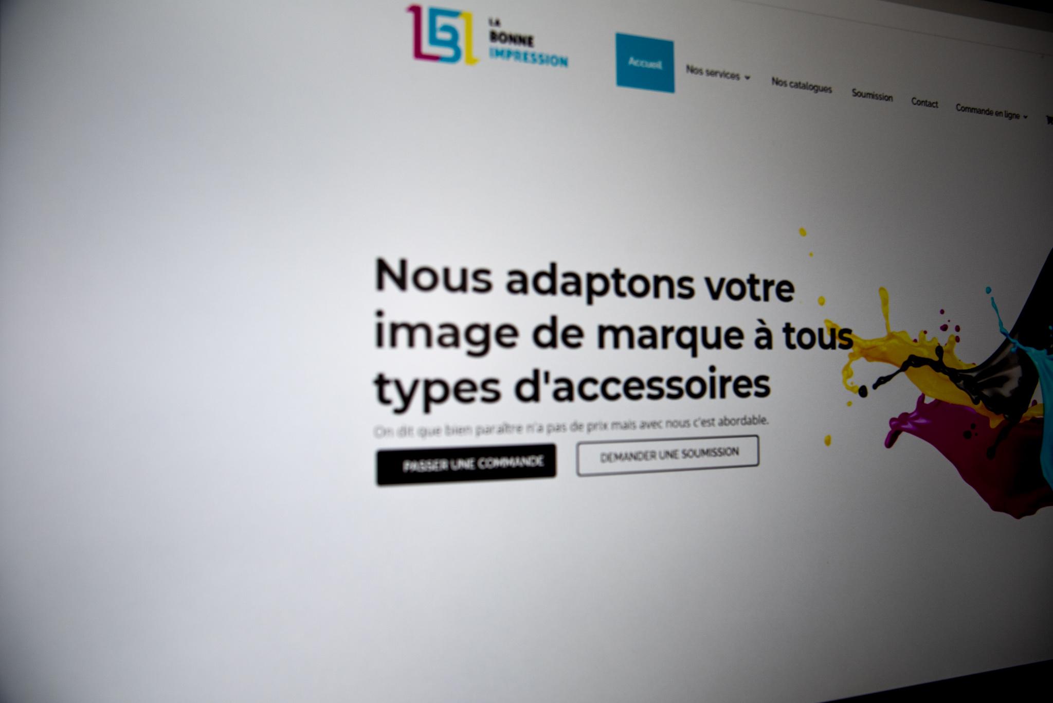 Site internet wordpress la bonne impression
