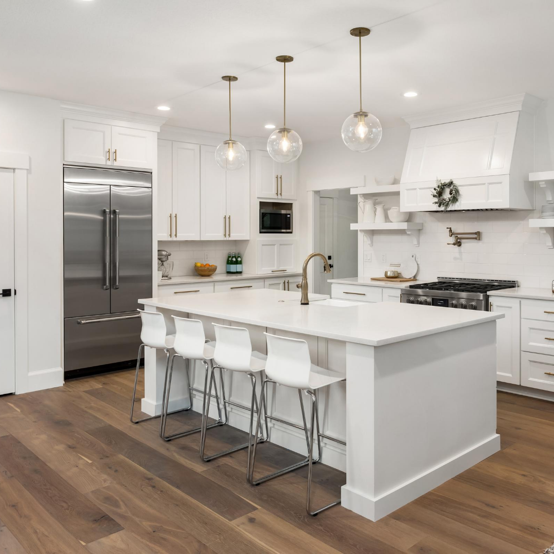 open concept kitchen remodel