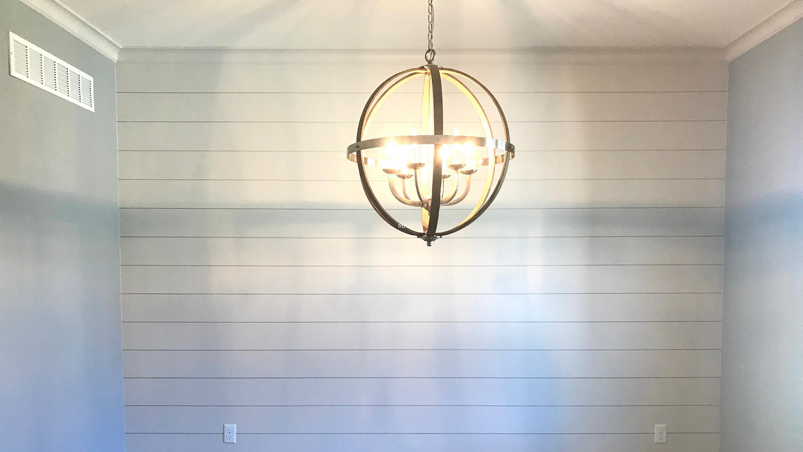 Wall with Shiplap