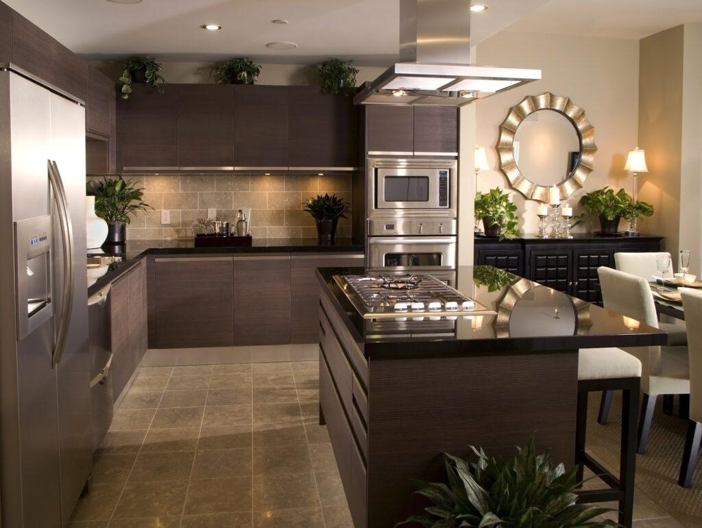Custom Kitchen traditional design