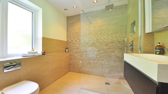custom bathroom remodel with smart home features