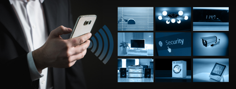 smart phone controlling smart home features