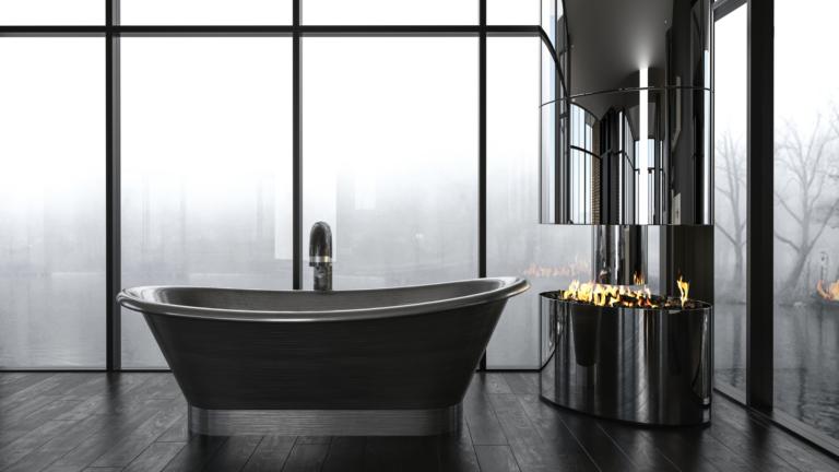 stand alone bath tub