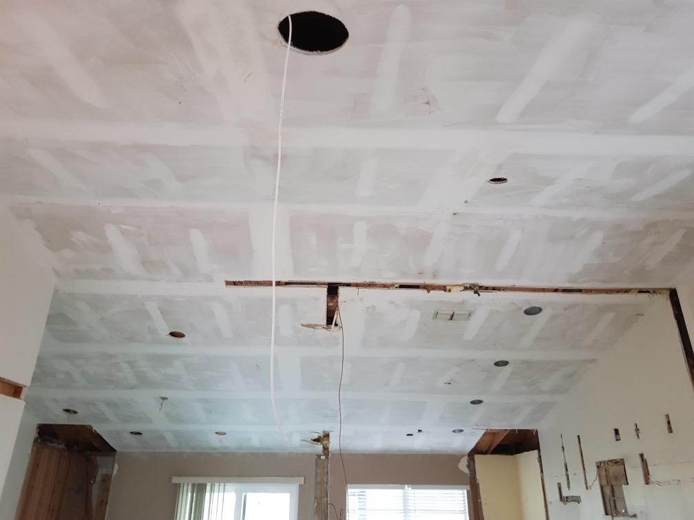 new kitchen ceiling