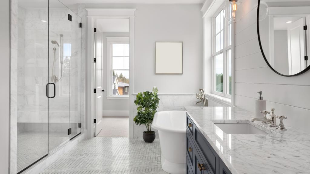 spa-like bathroom trends 2021