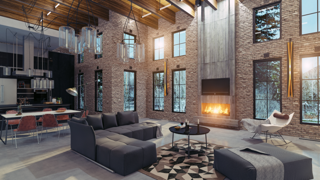 industrial style home builder