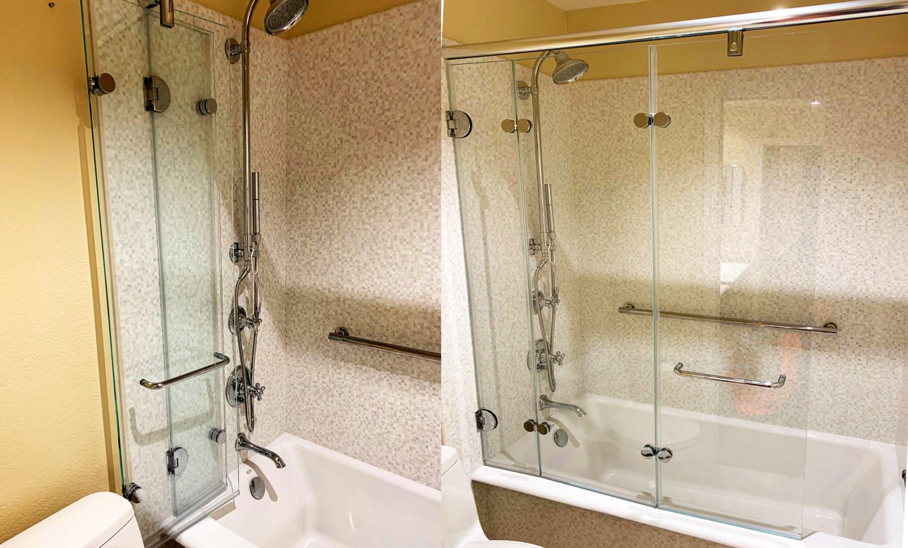 Tri-Fold Shower Screen