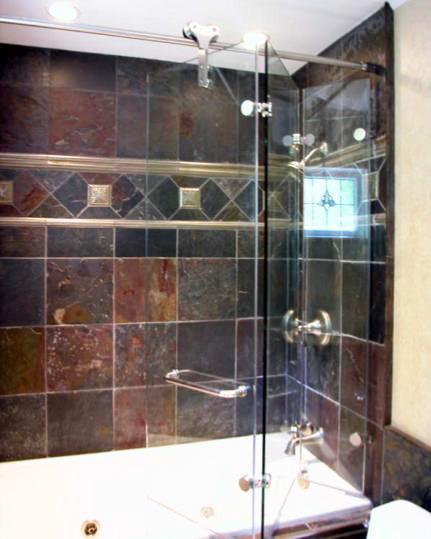 Tri-Fold Shower Door