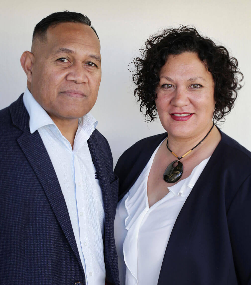 Taupo & Tracie, Mana Pacific Consultants