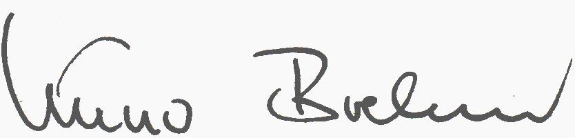 Kuno Brehm Unterschrift