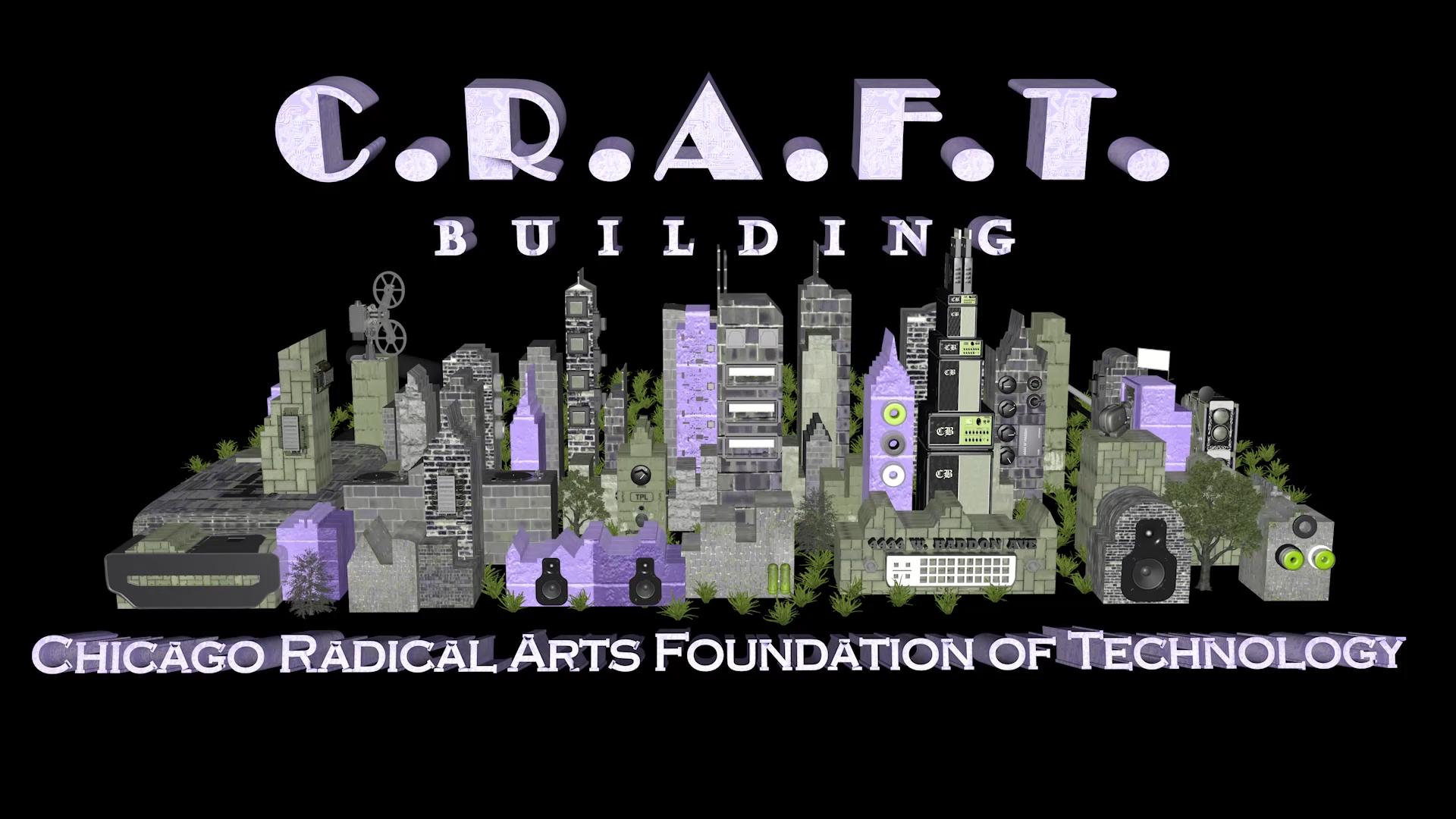 Beginning screenshot of the CRAFT animation.