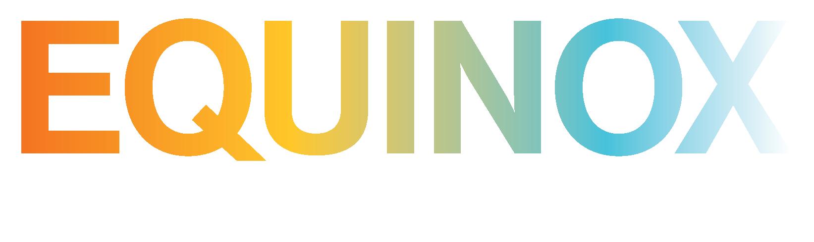Equinox BFA Logo in Rainbow Colors