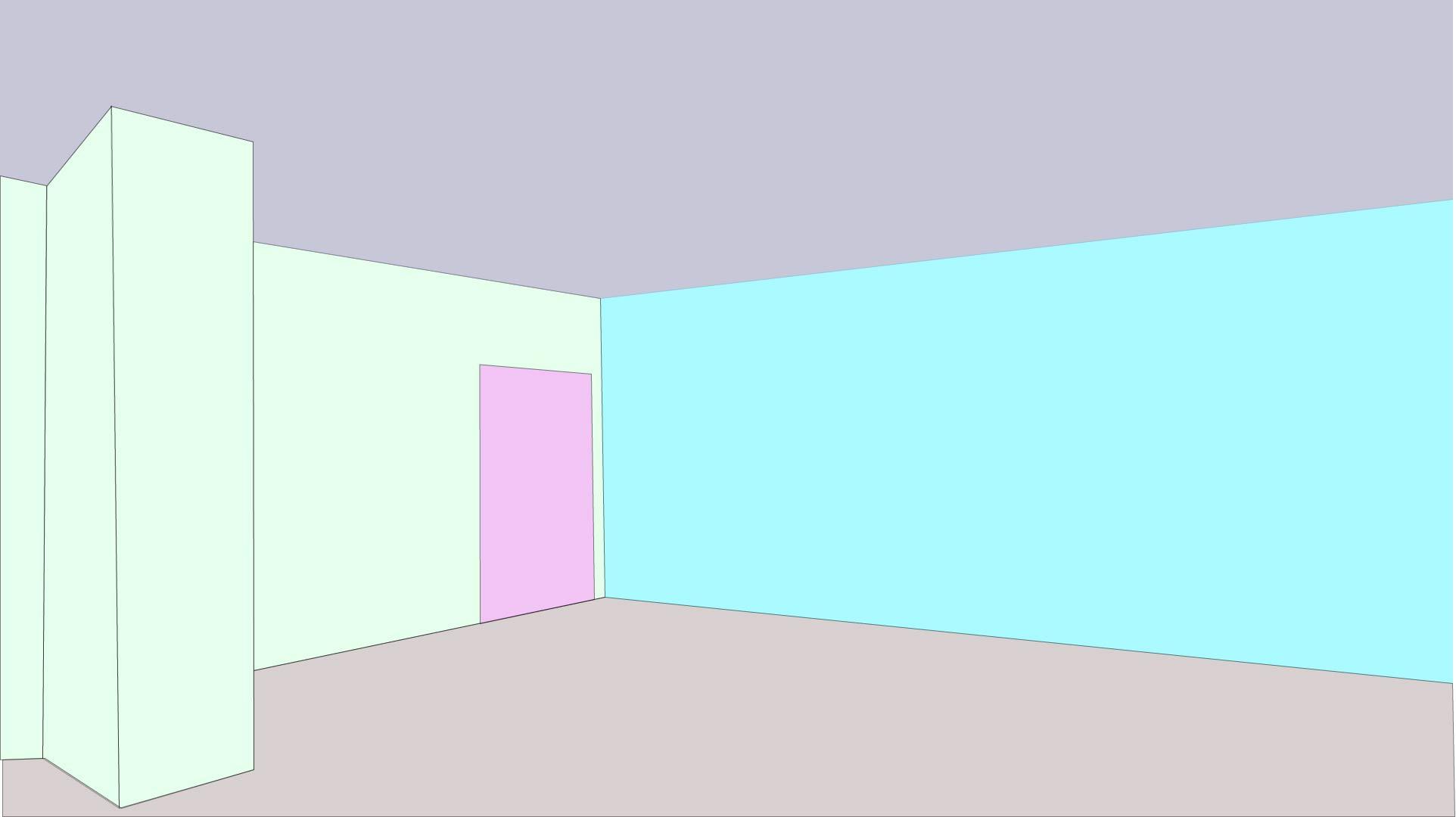 Designed Animated room.