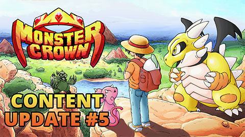 Monster Crown's Content Update #5 brings collectible monster cards and more