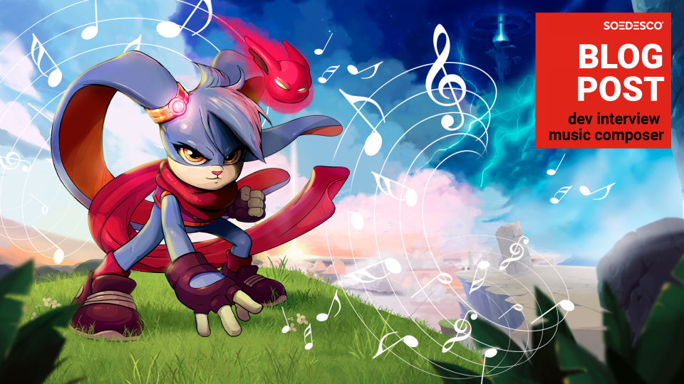 Learn more about the game music of 90s inspired platformer Kaze and the Wild Masks