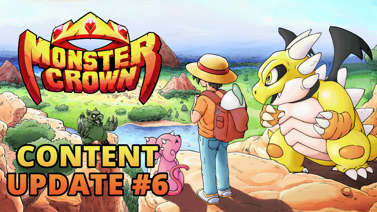 Content Update #6 for Monster Crown adds story expansion, new monsters and more