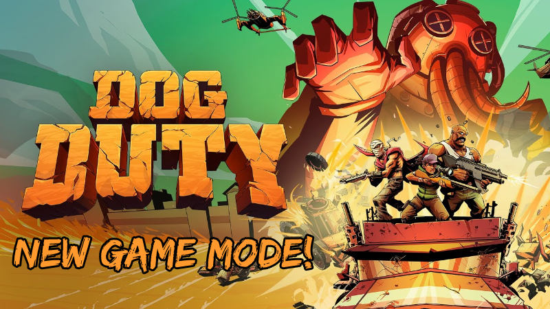 Dog Duty received a big post-launch update, including a new game mode on console