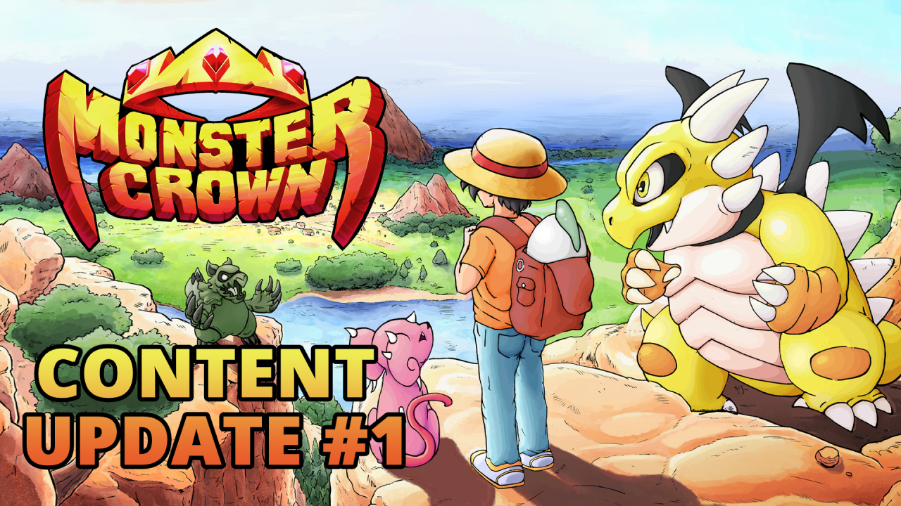 Monster Crown gets first big content update within a month of its Early Access release on Steam®