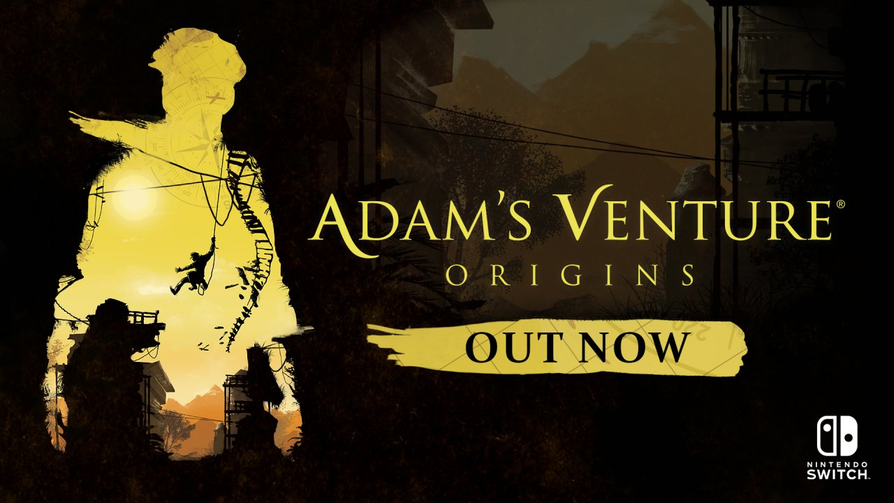 Adventure game Adam's Venture®: Origins is now available on Nintendo Switch™