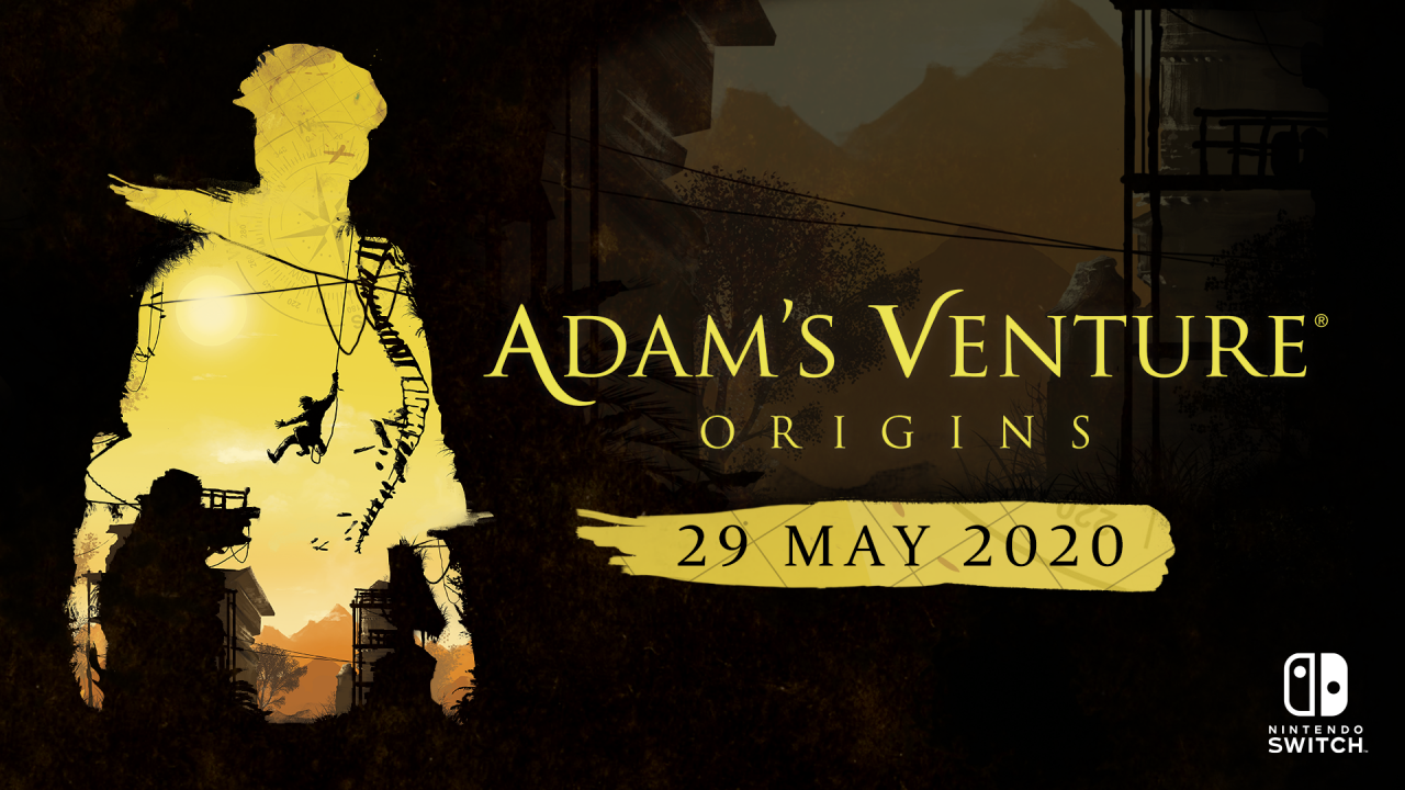 Adam's Venture®: Origins is set to be explored on Nintendo Switch™ on May 29, 2020