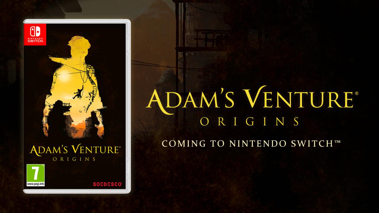 Adam's Venture®: Origins is making its way to Nintendo Switch™