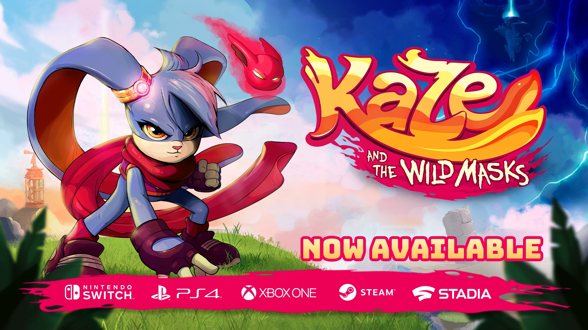 Critically acclaimed Kaze and the Wild Masks jumps from a childhood dream into reality