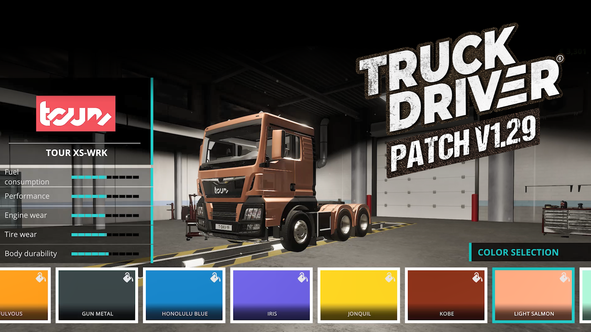 Truck Driver® releases update V1.29