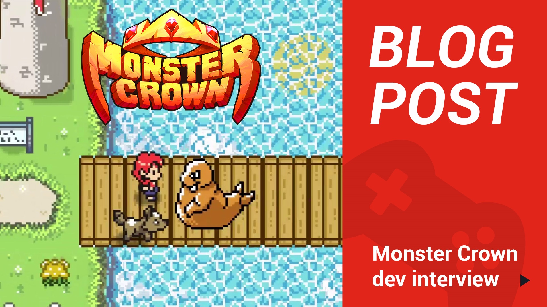Get to know the developer behind Monster Crown, the dark monster taming game