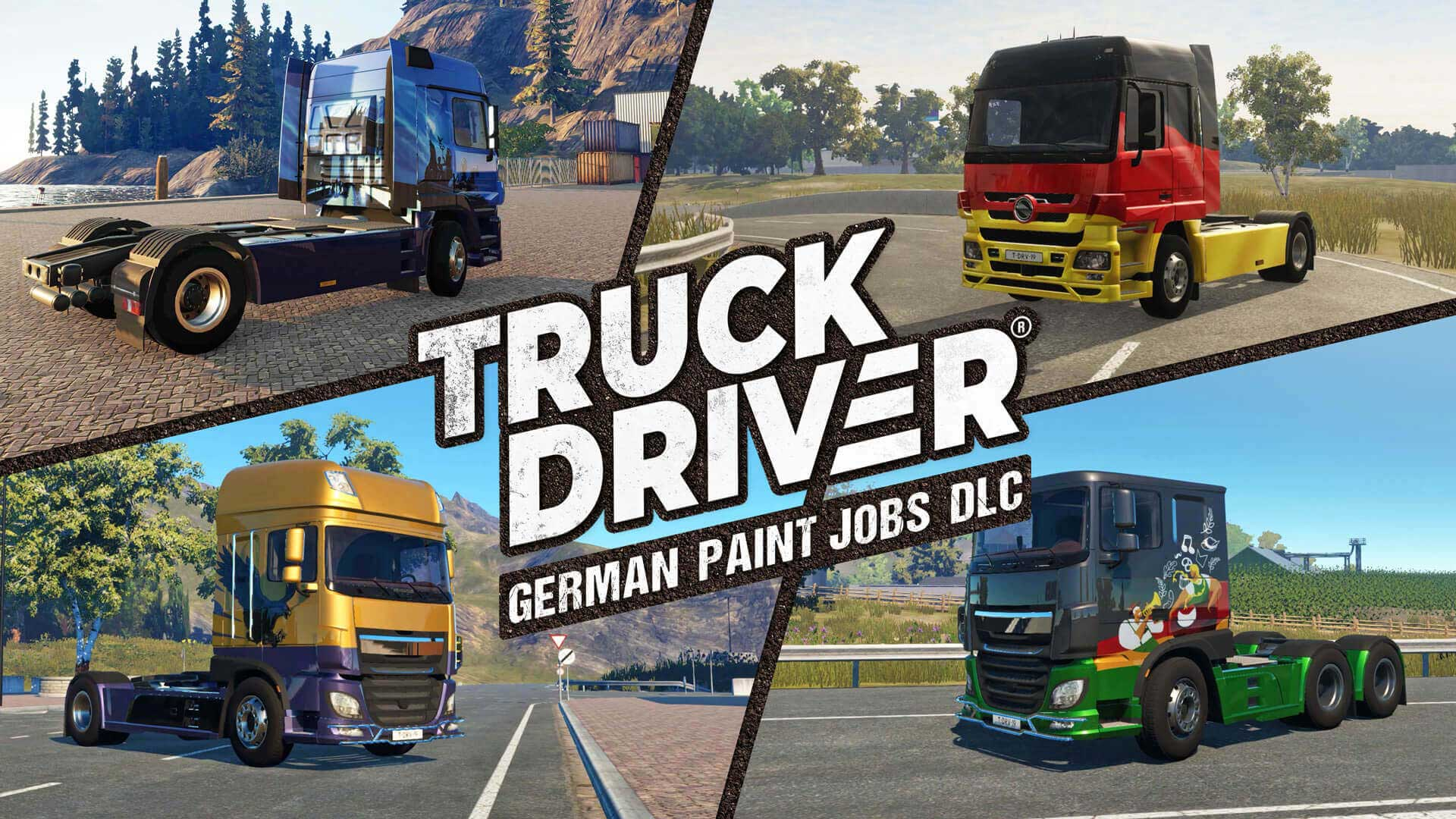 Players can now customize every in-game truck with six German paint jobs on Nintendo Switch™, PlayStation®4 and Xbox One