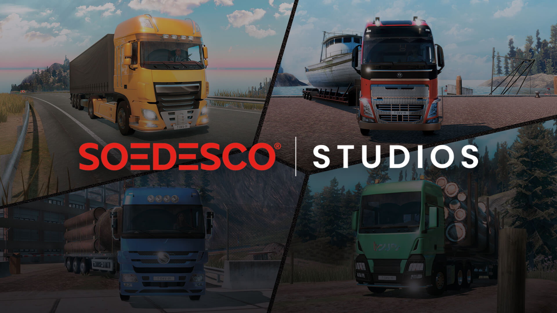 Truck Driver for PC is currently in development by SOEDESCO Studios