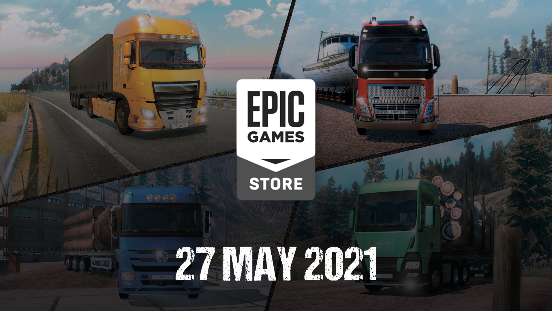 Truck Driver® launches on Epic Games Store on May 27
