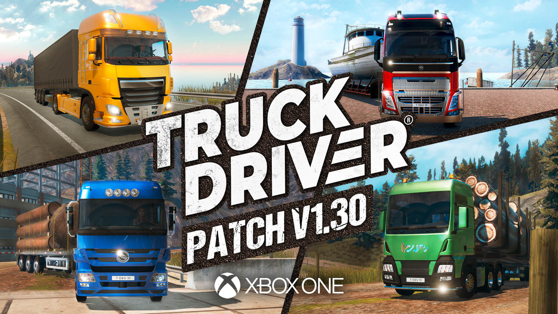 Truck Driver update v1.30 now live on Xbox One