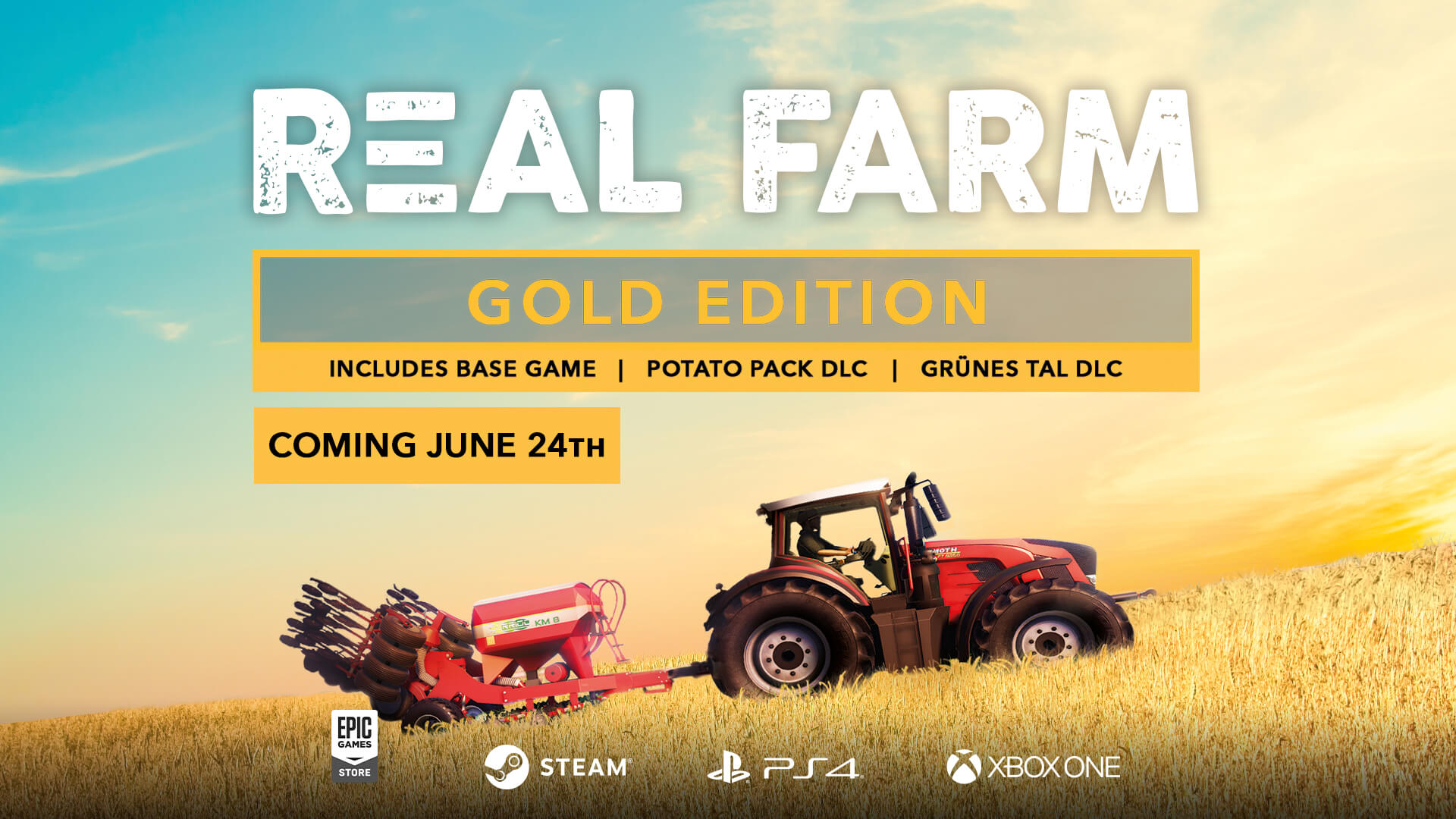 Real Farm – Gold Edition launches on June 24th