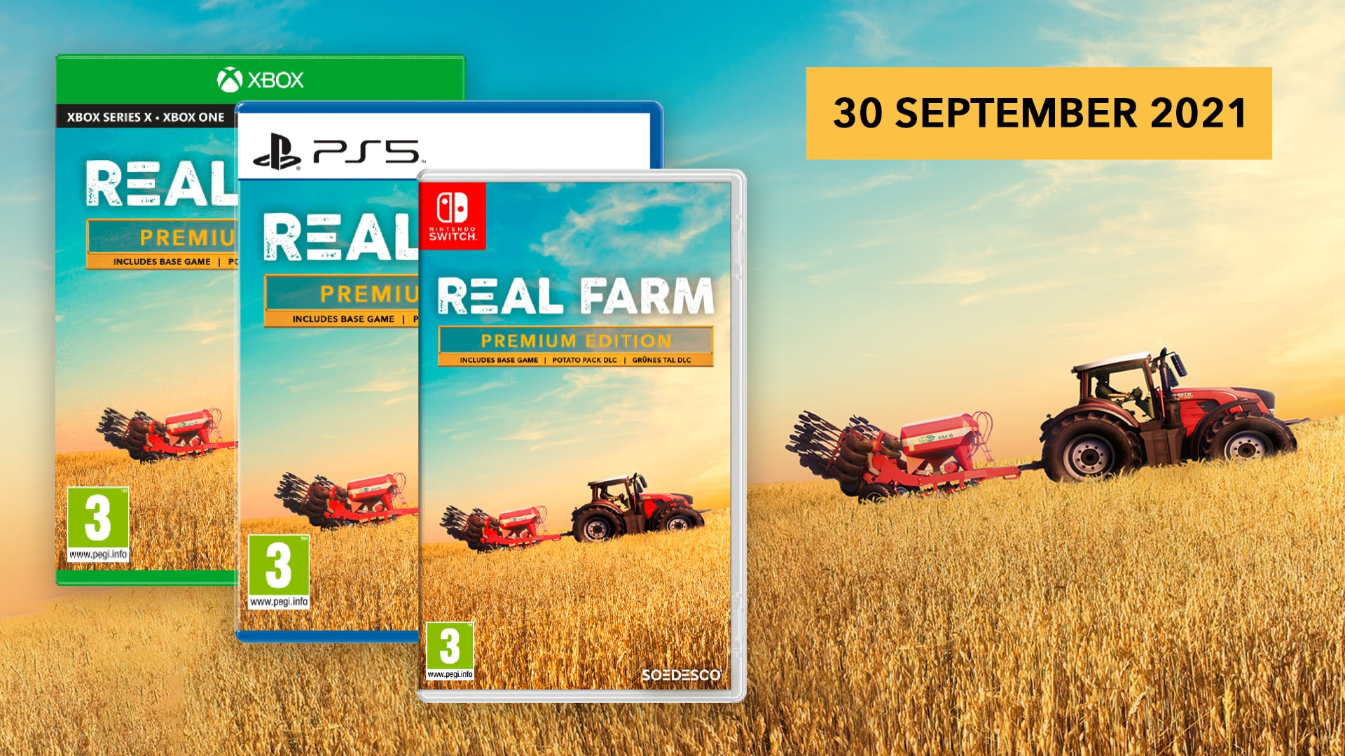Real Farm - Premium Edition Coming to PS5™, Xbox Series X|S & Nintendo Switch on September 30